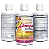 Nature's Optimal Nutrition Energize Liquid Multi (Peach Mango Splash, 30 fl oz) Health Direct