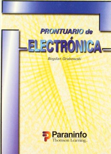PRONTUARIO DE ELECTRONICA