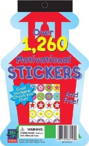 Eureka Die Cut Stickerbook - Schoolhouse Learning Playground Sticker Book