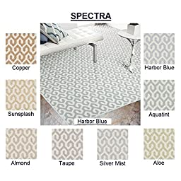 3\'x5\' Almond - SPECTRA - Custom Carpet Area Rug - 40 Oz. Tufted, Pinpoint Saxony - Nylon by Milliken (8 Colors to Choose From)
