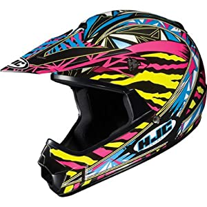 HJC Fuze Youth Boys CL-XY Off-Road/Dirt Bike Motorcycle Helmet - MC-3