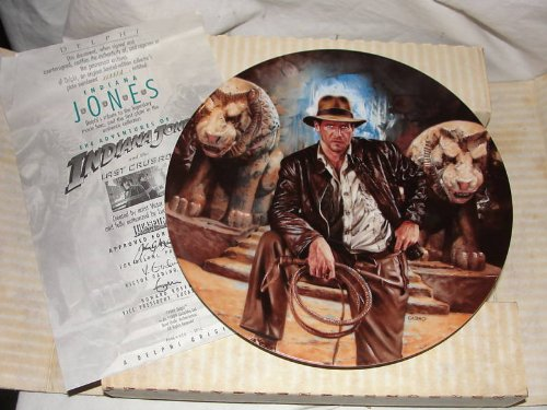 1989 Delphi Indiana Jones Last Crusade Plate