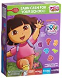Fruit Shapes Fruit Flavored Snacks, Nickelodeon Dora, 10-Count Pouches (Pack of 10)