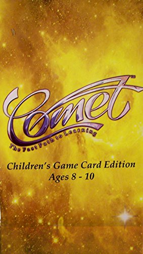 Comet® the Fast Path to Learning Children's Game Card Edition Ages 8 to 10 Expansion Pack