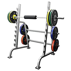 Valor Athletics Sawtooth Squat Bench Combo Power Rack Olympic Weight Bench With