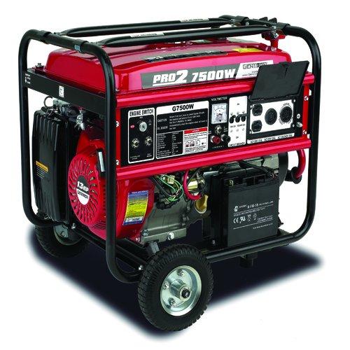 Gentron Pro2 7500 Watt Portable Generator Portable Powers