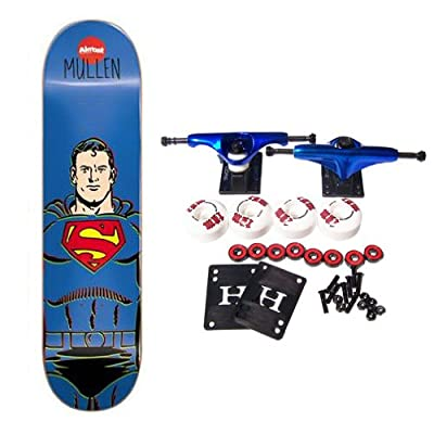 ALMOST X DC COMICS COLLABORATION SUPERMAN Complete Skateboard Mullen 8.1