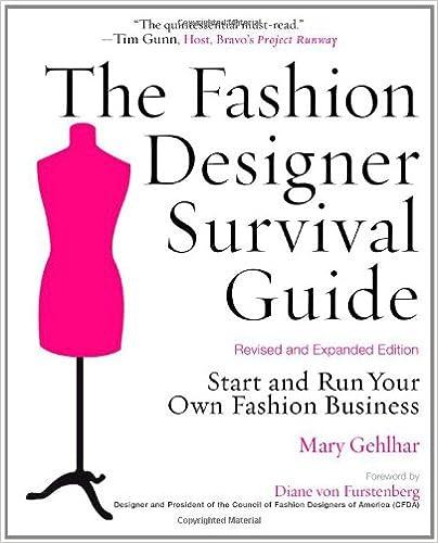 Fashion Books On Amazon The Fashion Designer Survival