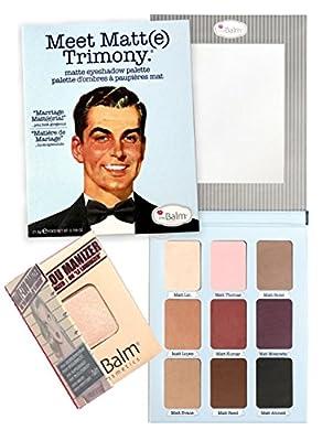 theBalm 'Meet Matt(e)®' Trimony Eyeshadow Palette w/ Mini Mary Lou Manizer