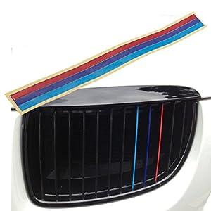 audew grille grill calandre vinyle bande autocollant pour bmw m3 m5 e36 e46 e60 e90 e92. Black Bedroom Furniture Sets. Home Design Ideas