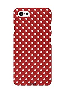 AANADI Apple Iphone 6 Polka Dots Back Case