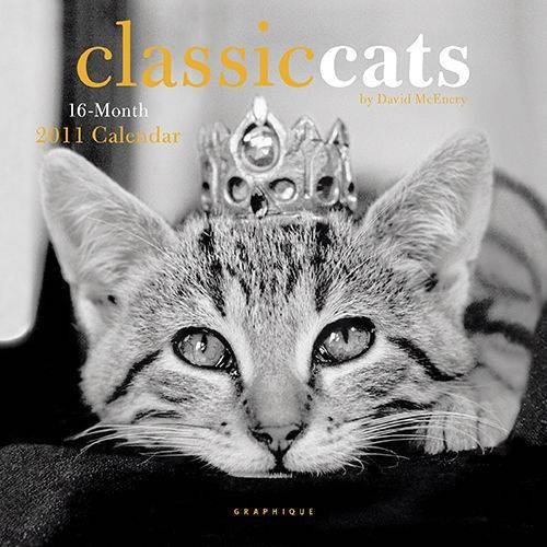 Classic Cats by David McEnery 2011 Small Wall Calendar