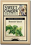 Bloomsdale Spinach - Certified Organic Heirloom Seeds