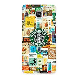 Special Coffee SB Multicolor Back Case Cover for Galaxy A7 2016