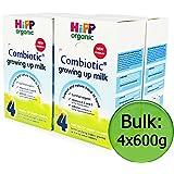 Organic Growing Up Milk (Hipp) 4x600g