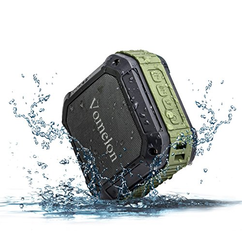 Bluetooth Speaker, Wireless Portable Waterproof Speaker with 6-12 Hours Playing time for Shower / Outdoor /Fishing /Beach Party