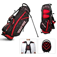 Brand New Texas Tech Red Raiders NCAA Stand Bag - 14 way by Things for You
