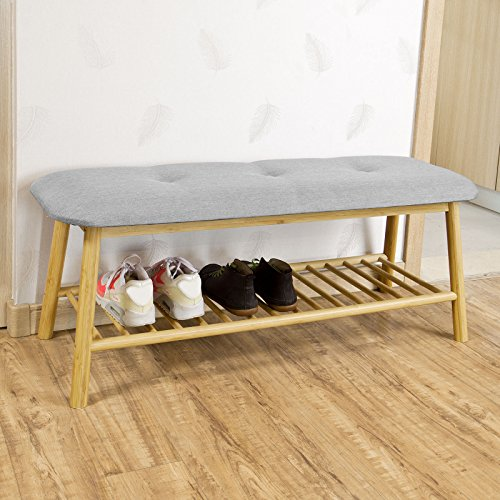 sobuyr-bamboo-shoe-rack-storage-bench-with-seat-cushion-hallway-bedroom-upholstered-bench-fsr24-hg
