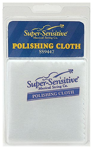 Super Sensitive Strings 9447 Orchestral String Instrument Polishing Cloth (Polishing Cloth Violin compare prices)