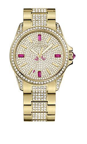 Juicy Couture - Orologio da polso, analogico al quarzo, oro rosa