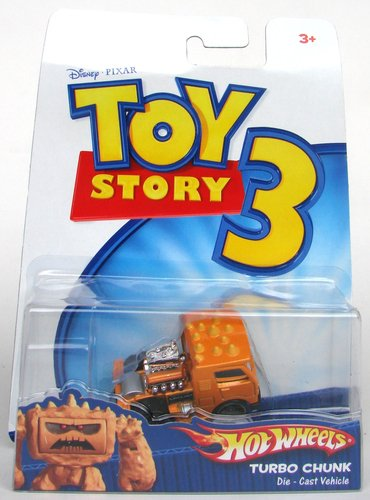 Toy Story Hotwheels: Turbo Chunk Die Cast Vehicle