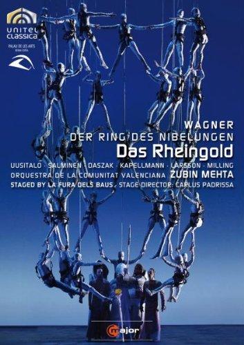 El Oro Del Rin (La Fura Dels Baus/ Mehta) - Wagner -  DVD