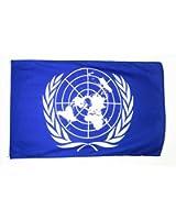 AZ FLAG - DRAPEAU ONU 150x90cm - DRAPEAU DES NATIONS UNIES 90 x 150 cm - Neuf