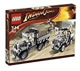LEGO Indiana Jones 7622: Race for the Stolen Treasure
