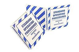 Standard Operating Procedures Binder - 1.5 Inch
