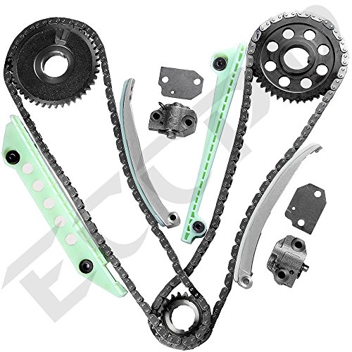 ECCPP TK6046W Timing Chain Kit For 97-07 Ford E150 F150 F250 Explorer Expediton 4.6 281CID WINDSOR Timing Chain Kit(Check Fitment) (Explorer 2002 Timing Chain compare prices)