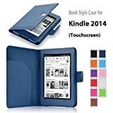 """Elsse For Galvanize 6"""" Glare Free - Folio Encase Cover for Kindle (7th Generation), Dark Dismal - will not fit previous generation Kindle devices"""