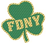FDNY SHAMROCK DECAL - 2 SIZES