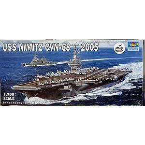 azon.com: Trumpeter 1\/700 USS Nimitz CVN6