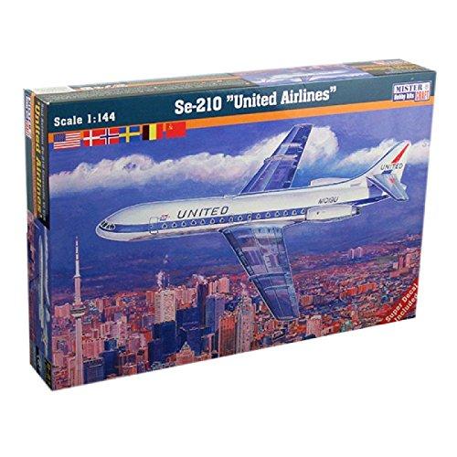 mistercraft-se-210-caravelle-united-airlines-plastic-model-kit