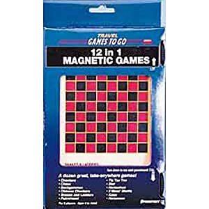 12 in 1 travel Magnetic Games