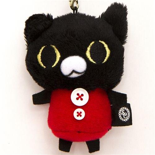 Imagen 1 de Colgante Gato Negro de Peluche de Sentimental Circus