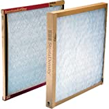 "American Air Filter 12"" X 24"" X 1"" Strata Density Fiberglass Air Filters Sold in packs of 12"
