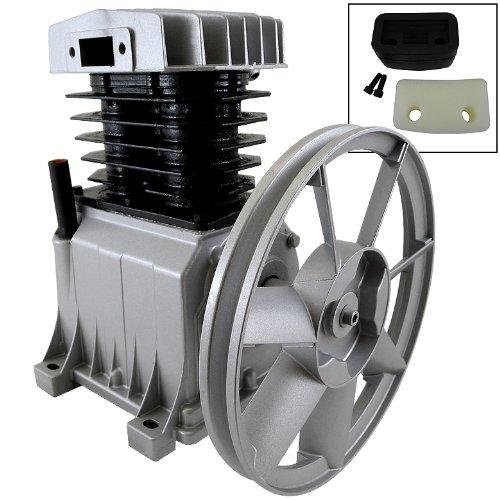 "145 Psi Cylinder Aluminum Air Compressor Pump 2Hp Motor 10-1/2"" Flywheel 9Cfm Hd"