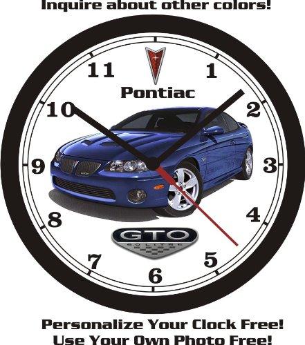 2005-pontiac-gto-wall-clock-free-usa-ship