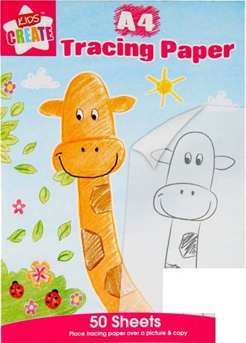 A4 Tracing Paper - 50 Sheets