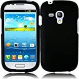 For Samsung Galaxy S3 Mini i8190 Hard Cover Case Black Accessory