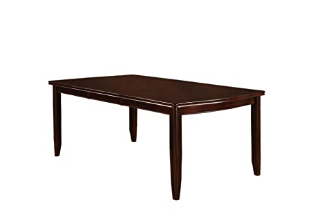 Furniture of America Anlow Dining Table with 18-Inch Expandable Leaf, Espresso Finish, Set of 2