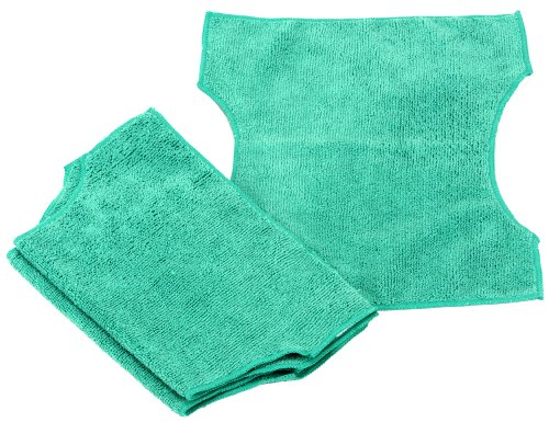 Simplee Cleen Microfiber Refills for Swiffer and Clorox ReadyMop 3-pack GREEN