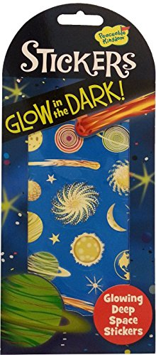 Peaceable Kingdom Glow in the Dark Deep Space Sticker Pack