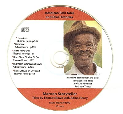 Jamaican Folk Tales & Oral Histories CD #2/Maroon Storyteller