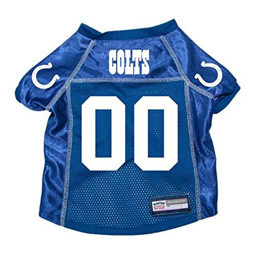 NFL Indianapolis Colts Hunter Pet Jersey, Medium, Royal (Colt Mascot Costume)