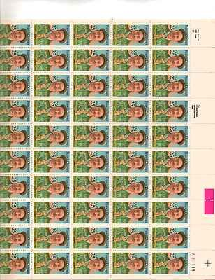 Francis Ouimet Sheet of 50 x 25 Cent US Postage Stamps NEW Scot 2377