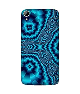 Trippy Blue Htc Desire 828 Case