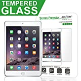 amFilm iPad Air/iPad Air 2 Tempered Glass Screen Protector 0.33m 2.5D Round Edge Tempered Glass Screen Protector for Apple iPad Air 2, iPad Air, iPad Air 3 (First and Second Generation) (1-Pack)