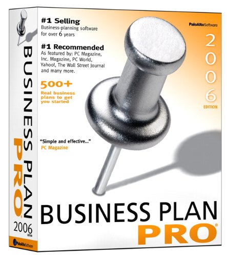 Business Plan Pro, Entrepreneurship: Starting